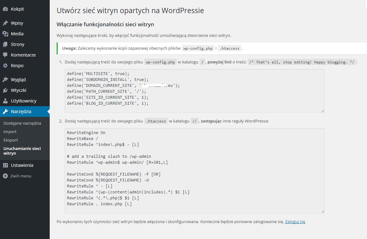 Wordpress Multisite 2