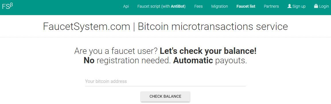 Rejestracja FaucetSystem.com