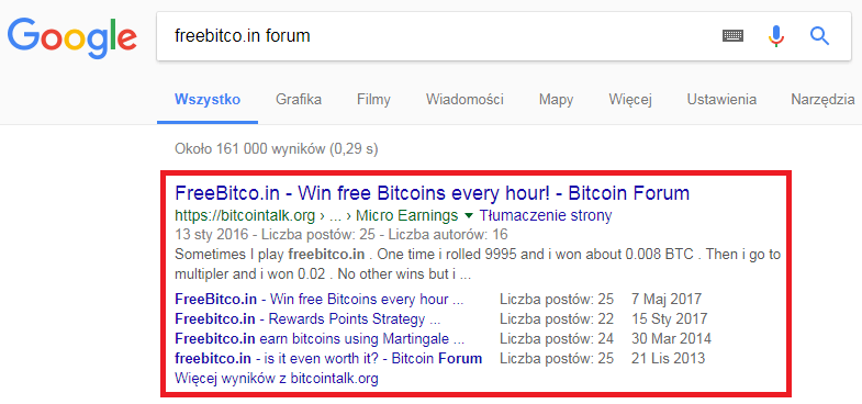 Google Freebitco.in forum