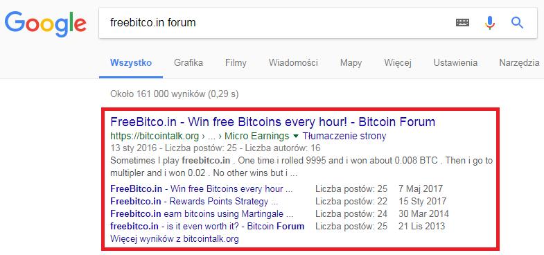 Google Freebitco.in forum