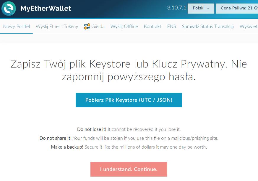 MyEtherWallet.com Rejestracja2