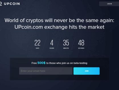 UpCoin. Lepsza giełda wymiany walut?