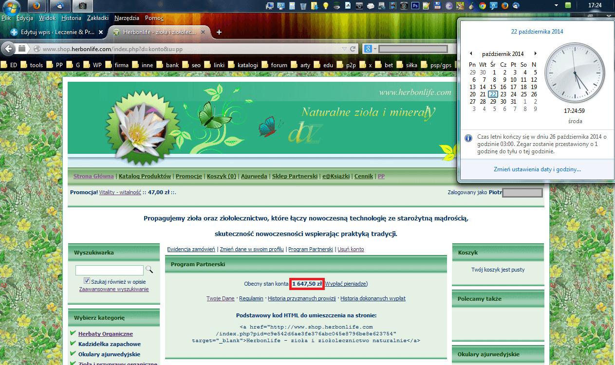HerbonLife.com Dług