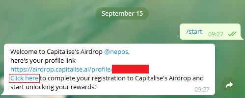 capitalise